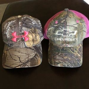 Under Amour and Chevrolet hat